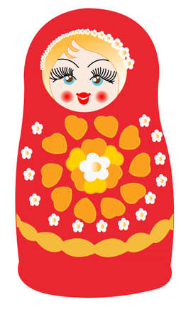 moldovan: matruska doll  Illustration