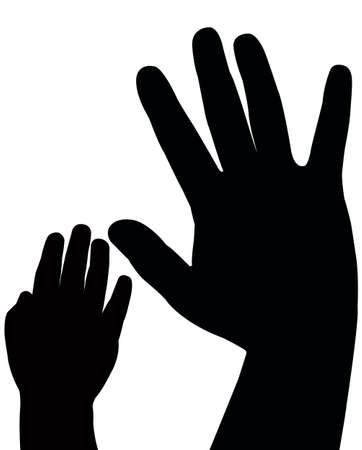 hands vector Stock Vector - 18347408
