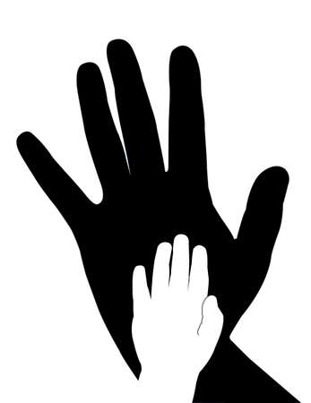 hands vector Stock Vector - 18347409