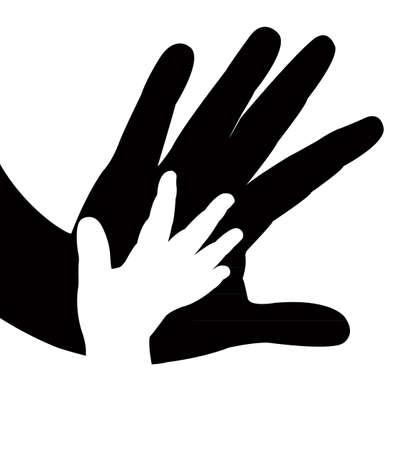 hands vector Stock Illustratie