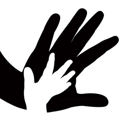 hands vector Ilustração