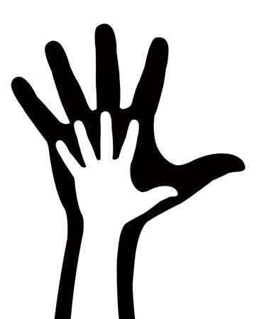 hands  Ilustração