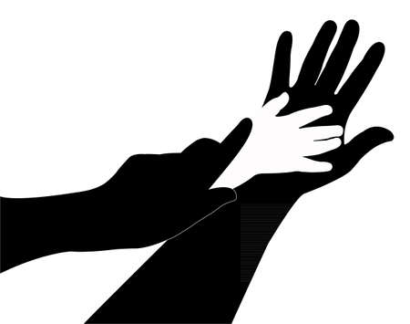 hands  Stock Vector - 20015011