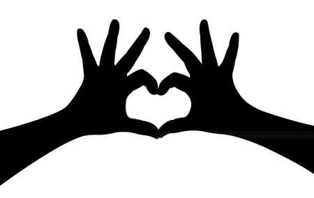 lover hands vector Vector
