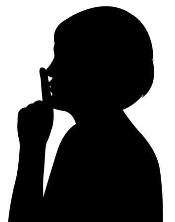 lady head silhouette