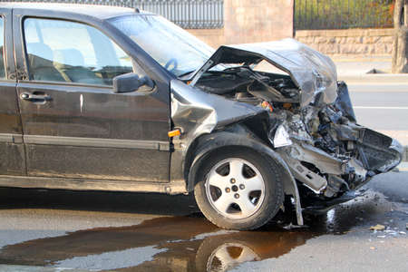 involved: Car Involved In Traffic Accident