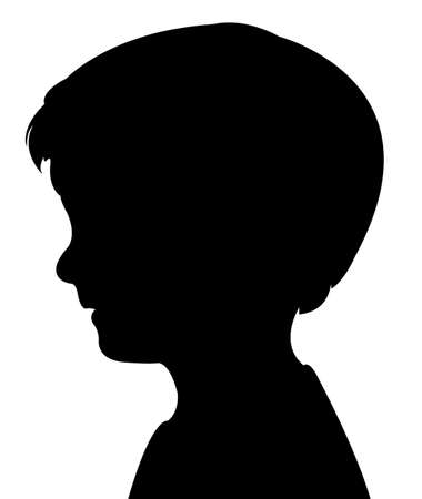 child boy: isolated baby two natural outline white boy
