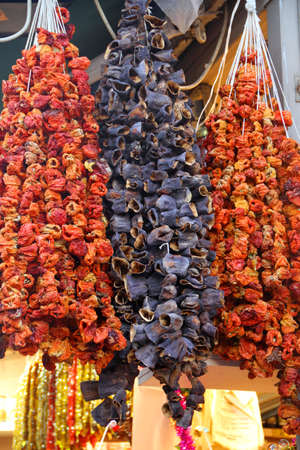 legumbres secas: legumbres secas en el bazar