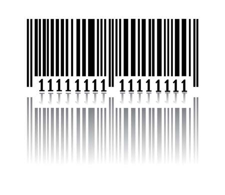 code bar: Bar code. Vector illustration Illustration