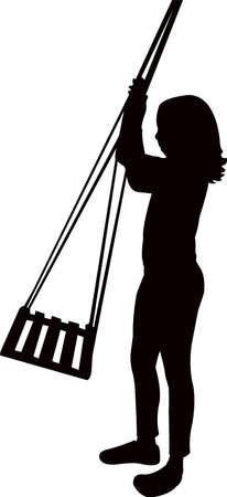 silhouette  イラスト・ベクター素材