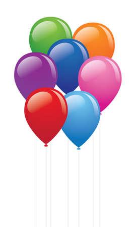 pink balloons: Balloons