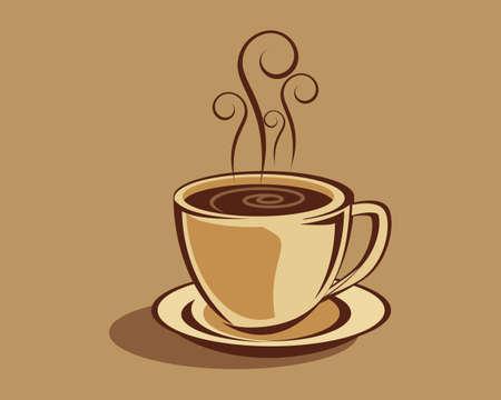 Kaffee Vektorgrafik