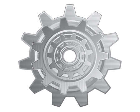 Gear_Metal Illustration
