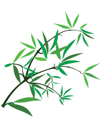 bamboo border: Bamboo _tree_leave