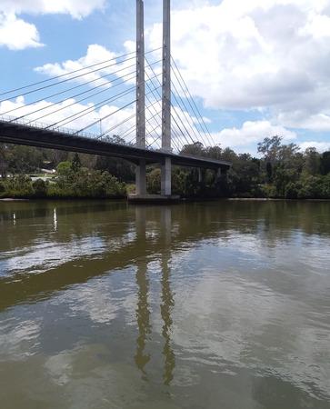 View of bridge from Brisbane River