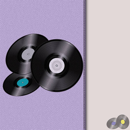 seam: Leather Diary with Records and seam Background