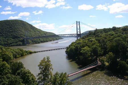 montgomery: Bear Mountain Bridge Stock Photo