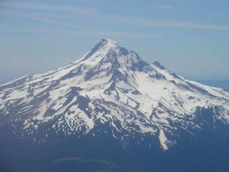 mount hood: Mount Hood, Oregon Stock Photo