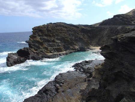 Grotto, Hawaii Banco de Imagens