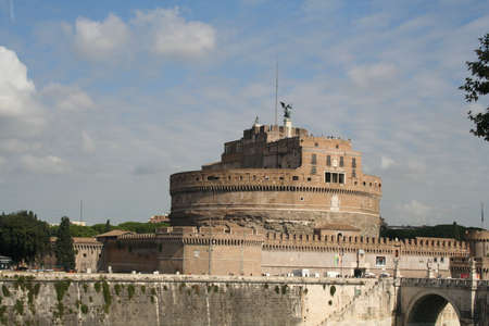 Rome, Italy, Mausoleum of Hadrian