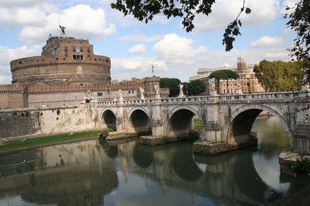 tiber: Rome, Italy, Tiber River