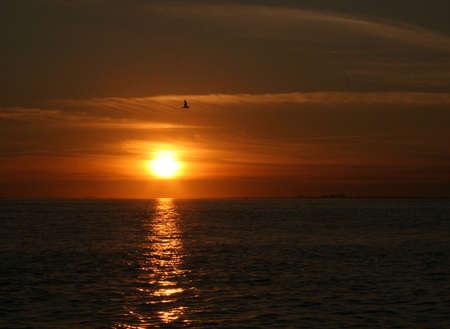 key biscayne: sunset, Key Biscayne, Florida