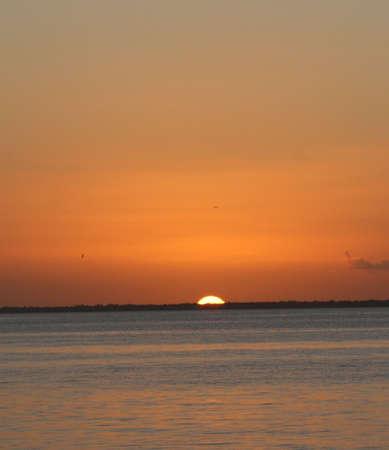 key biscane: puesta de sol, Key Biscayne