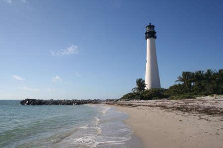 key biscayne: lighthouse, Key Biscayne, Florida
