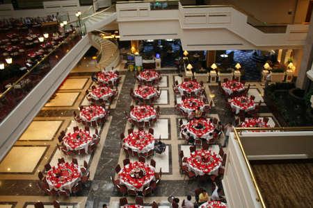 guilin: Guilin, China, inside the Sheraton Guilin Hotel  Stock Photo