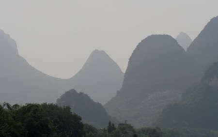 Guilin, China, Li River  Reklamní fotografie