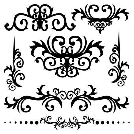 Graphic Design Elements Vector Stock Vector - 3394950