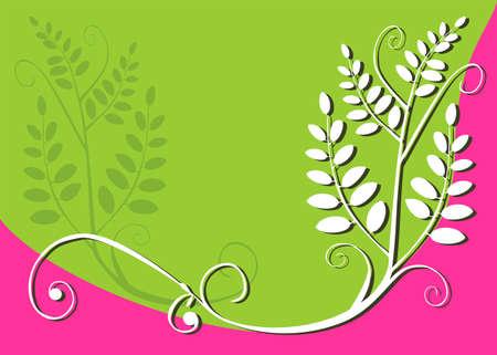 Floral design background Stock Vector - 3403270