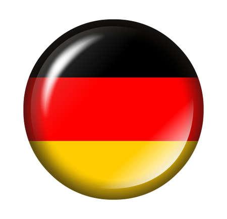 tricolour: German flag button with 3d effect