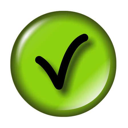 check icon: Brillante comprobar icono