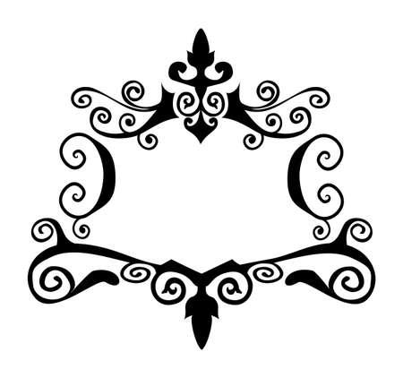 Decorative vector frame Stock Vector - 3550426