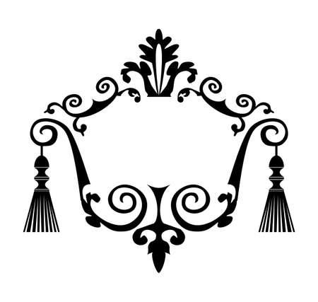 Decorative vector frame Vector