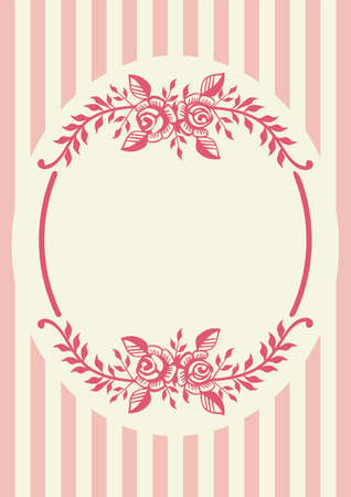 Frame with decorative elements Vector