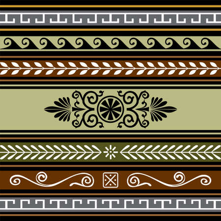 neoclassical: Set of geometric borders