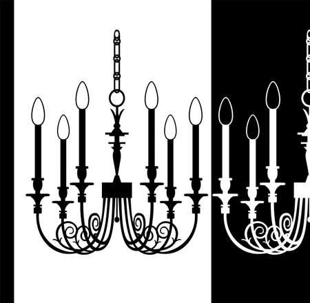 Vector chandelier Vector