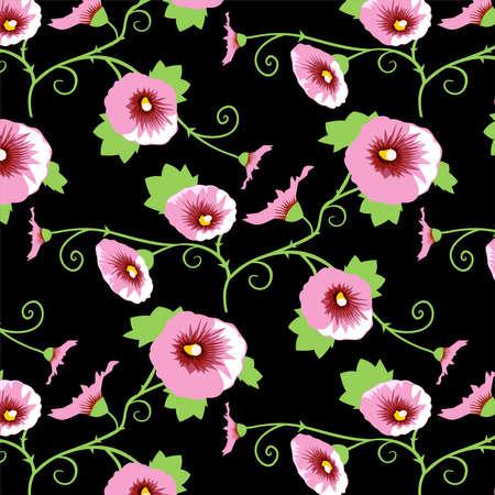 wallflower: Seamless design wallpaper