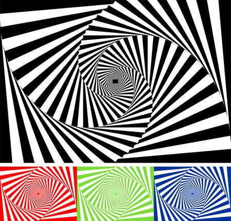 Set of vector geometric pattern Vector