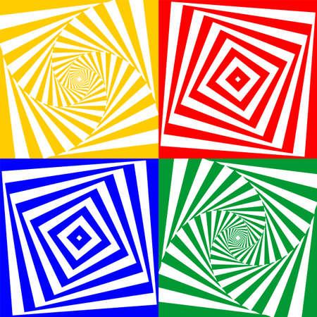 Set of vector geometric elements Vector
