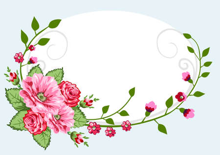Victorian roses vintage Stock Vector - 5014587