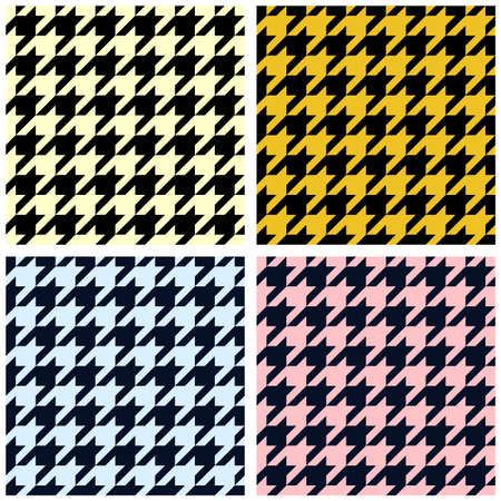 houndstooth: Houndstooth seamless pattern