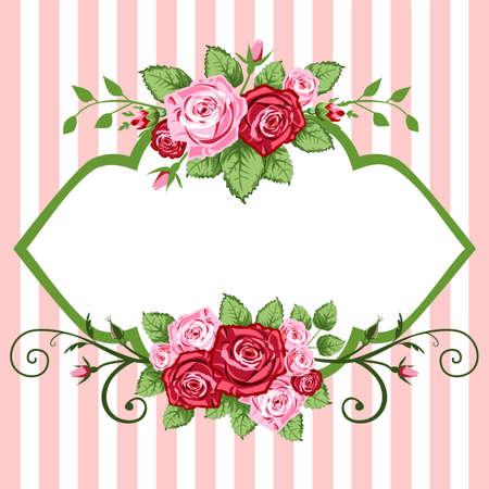 victorian valentine: Roses vintage