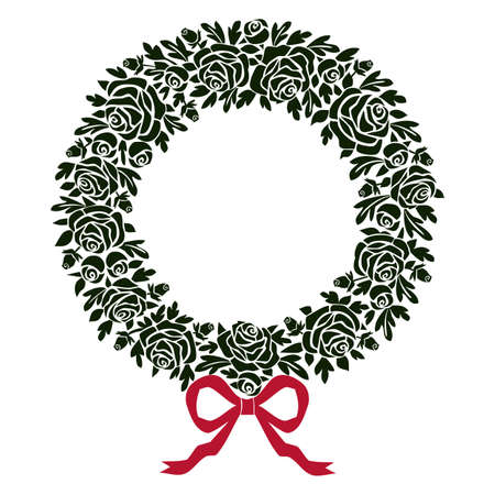 laurel leaf: Wreath Illustration