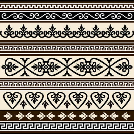 Collections of vector antique borders for design Stock Vector - 5748742