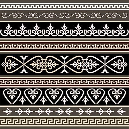 Antieke randen voor uw ontwerp Stockfoto - 5808767
