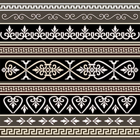 Antique borders for your design Stock Vector - 5808767