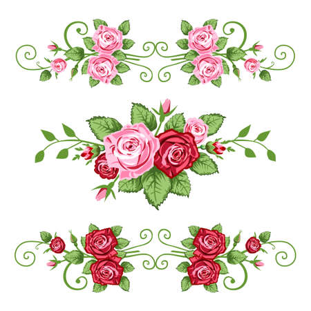 victorian valentine: Retro roses